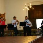 Sebastian, Richard, Markus, Gregor als Gast, Manfred